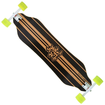 Long Board Wood Light Street Curve W119
