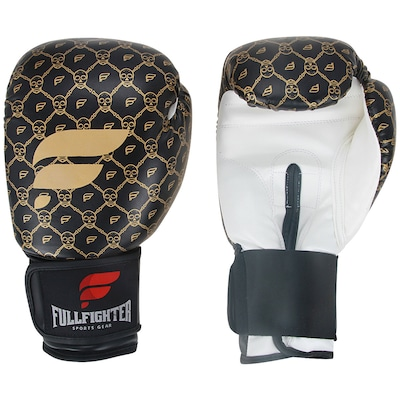 Luvas de Boxe Full Fighter Cardio Caveira Pro 16 OZ