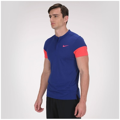 Camiseta Nike Touch Solid Henley - Masculina
