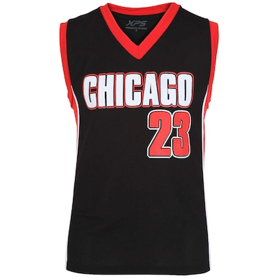 Camiseta Regata Chicago nº 23 - Masculina
