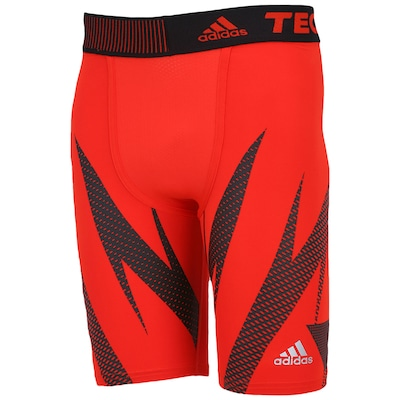 Bermuda adidas Techfit  Climacool Fit Graphic - Masculina