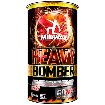 Pack Midway Heavy Bomber - 602g - 50 Sachês