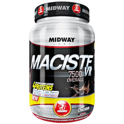 Hipercalórico Midway Maciste Vit 7500 Overall - Chocolate - 1,5Kg