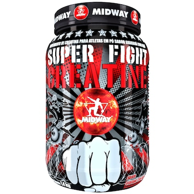 Creatina Midway Super Fight Creatine - Guaraná com Açaí - 1,4Kg