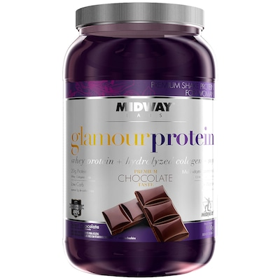 Whey Protein Midway Glamour Protein - Chocolate - 900g