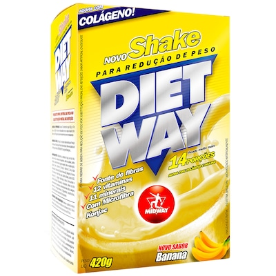 Diet Way – 420 G – Sabor Banana - Midway