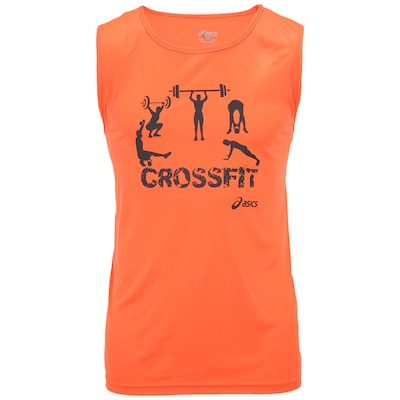 Camiseta Regata Asics Sleeveless Crossfit - Masculina