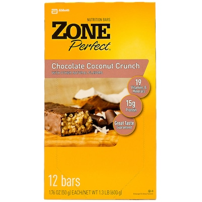 Zone Perfect Classic – 600 g – Sabor Chocolate com amêndoa e passas - Abbott