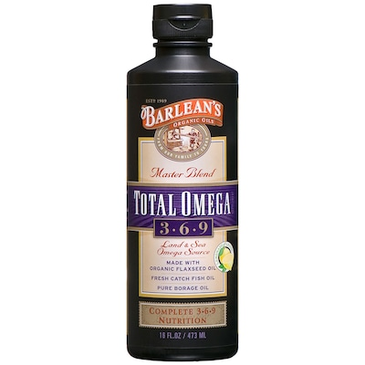 Master Blend TOTAL OMEGA – 473 Ml – Barlean's