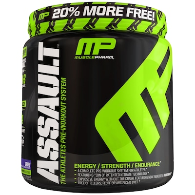 Assault – 552 g – Sabor Uva - Muscle Pharm