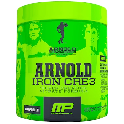 Creatina Muscle Pharm Arnold Iron Cre3 - Melancia - 126g