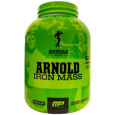 Arnold Iron Mass – 2,27 Kg – Sabor Chocolate - Muscle Pharm