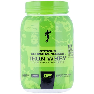 Whey Protein Muscle Pharm Arnold Iron Whey - Chocolate - 908g