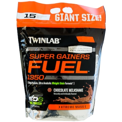 Super Gainers Fuel – 5,4 kg – Sabor Chocolate – Twinlab