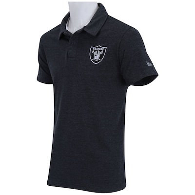 Camisa Polo New Era Basic Oakland Raiders – Masculina