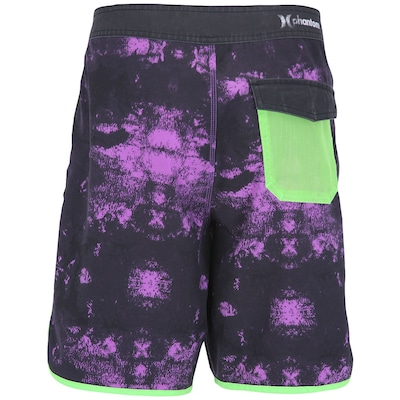 Bermuda Hurley Block Party Surface - Masculina