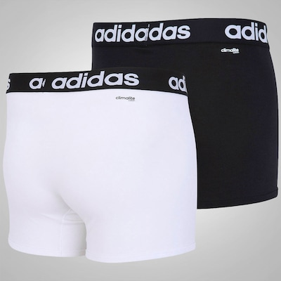 Cueca adidas Essentials Boxer Kit Com 2 Unidades – Adulto