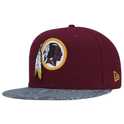 Boné Aba Reta New Era 59FIFTY Washington Redskins - Fechado - Adulto