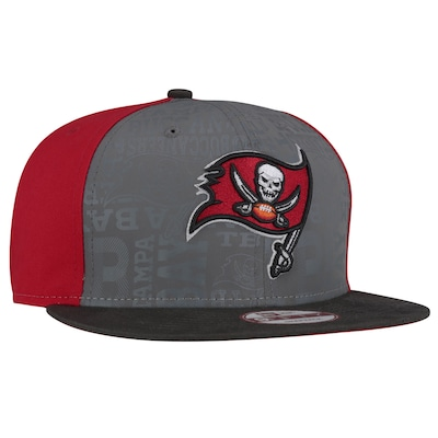 Boné Aba Reta New Era 9FIFTY Tampa Bay Buccaneers NFL Draft Reflective - Snapback - Adulto