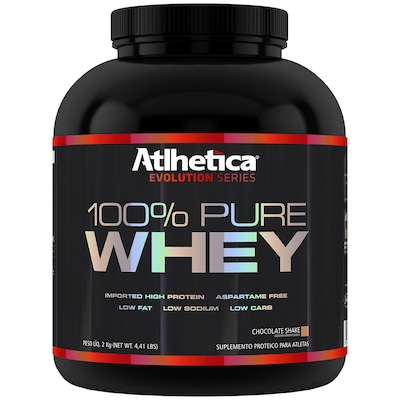 Whey Protein Atlhetica 100% Pure - Chocolate - 2 Kg