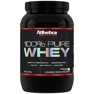 Whey Protein Atlhetica 100% Pure - Baunilha - 900g