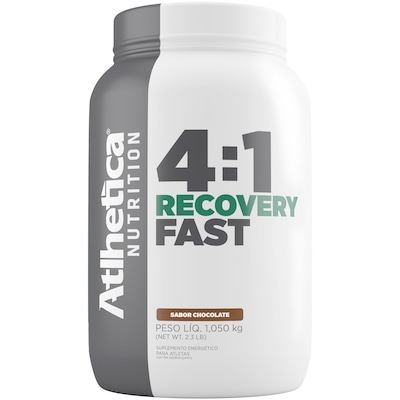 Carboidrato Athletica Recovery Fast 4:1 - Chocolate- 1,050Kg