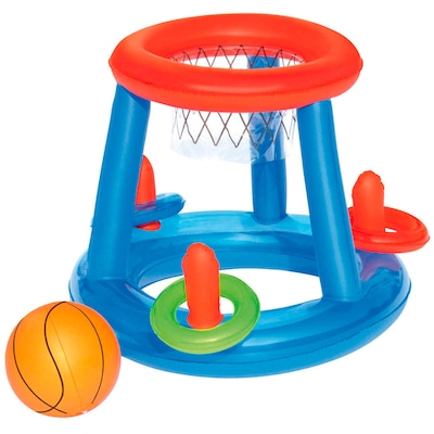 Play Center de Basquete Inflável para Piscina Bestway - Infantil