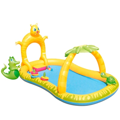 Piscina Inflável Bestway Play Center Jungle Safari 346 Litros - Infantil