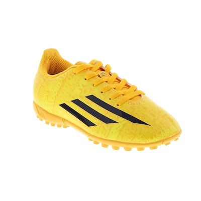 Chuteira do Messi Society adidas F5 AFA - Infantil