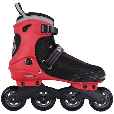 Patins Oxer Speed 7000 - In Line - Fitness - ABEC 7 - Ajustável - Adulto