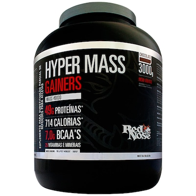 Hypermass Gainers 49000 – 3 Kg – Sabor Chocolate – Red Nose