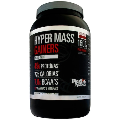 Hypermass Gainers 49000 – 1,5 Kg – Sabor Morango – Red Nose