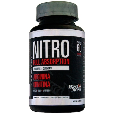 NO2 Red Nose Nitro Full Absorption - 60 Tabletes