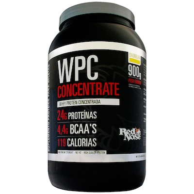 WPC Concentrate – 900 g – Sabor Baunilha – Red Nose