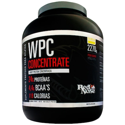 WPC Concentrate – 2,270 kg – Sabor Baunilha – Red Nose