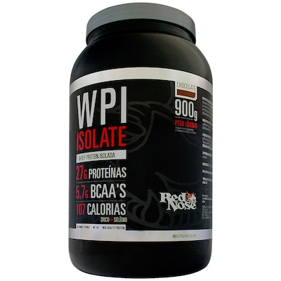 WPI Isolate – 900 g – Sabor Chocolate – Red Nose