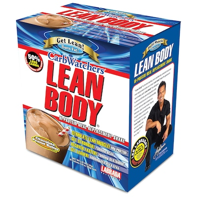 Lean Body Carb Watchers – 20 Envelopes – Sabor Chocolate – Labrada Nutrition