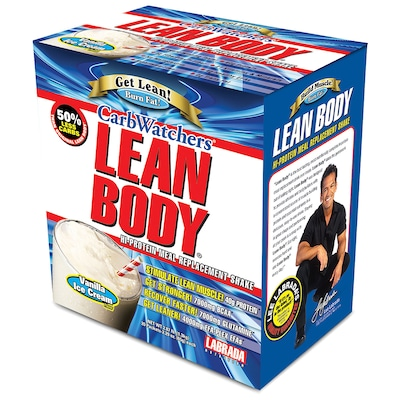 Lean Body Carb Watchers – 20 Envelopes – Sabor Baunilha – Labrada Nutrition
