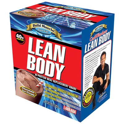 Lean Body – 1120 g – Sabor Chocolate – Labrada Nutrition