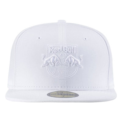Boné Aba Reta New Era Red Bull Brasil Total White - Fechado - Adulto