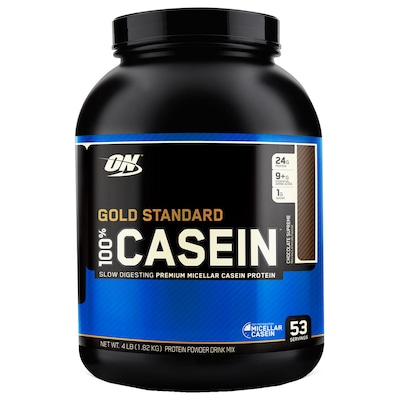Caseina Optimum Nutrition 100% Casein Protein - Chocolate - 1,82Kg