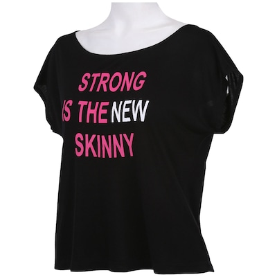 Camiseta Oxer Cropped Strong – Feminina