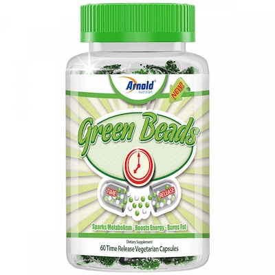 Green Coffee Beads - 60 Cápsulas - Arnold Nutrition