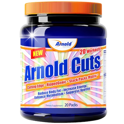 Pack Arnold Nutrition Arnold Cuts - 20 Packs