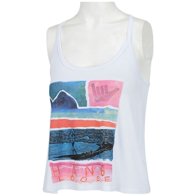 Camiseta Regata Hang Loose Macuri - Feminina
