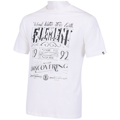 Camiseta Element Chalk - Masculina