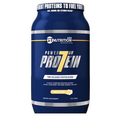 Power Protein 7 – 1,362 Kg – Sabor Baunilha – GT Nutrition USA