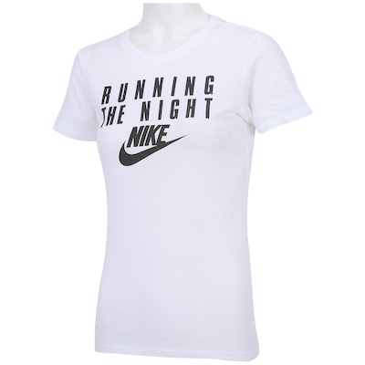 Camiseta Nike The Night - Feminina
