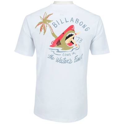 Camiseta Shirt Billabong Dinner - Masculina