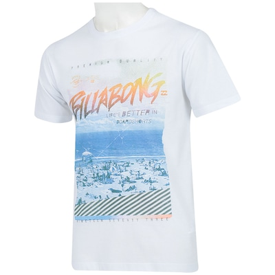 Camiseta Billabong Beach Style - Masculina